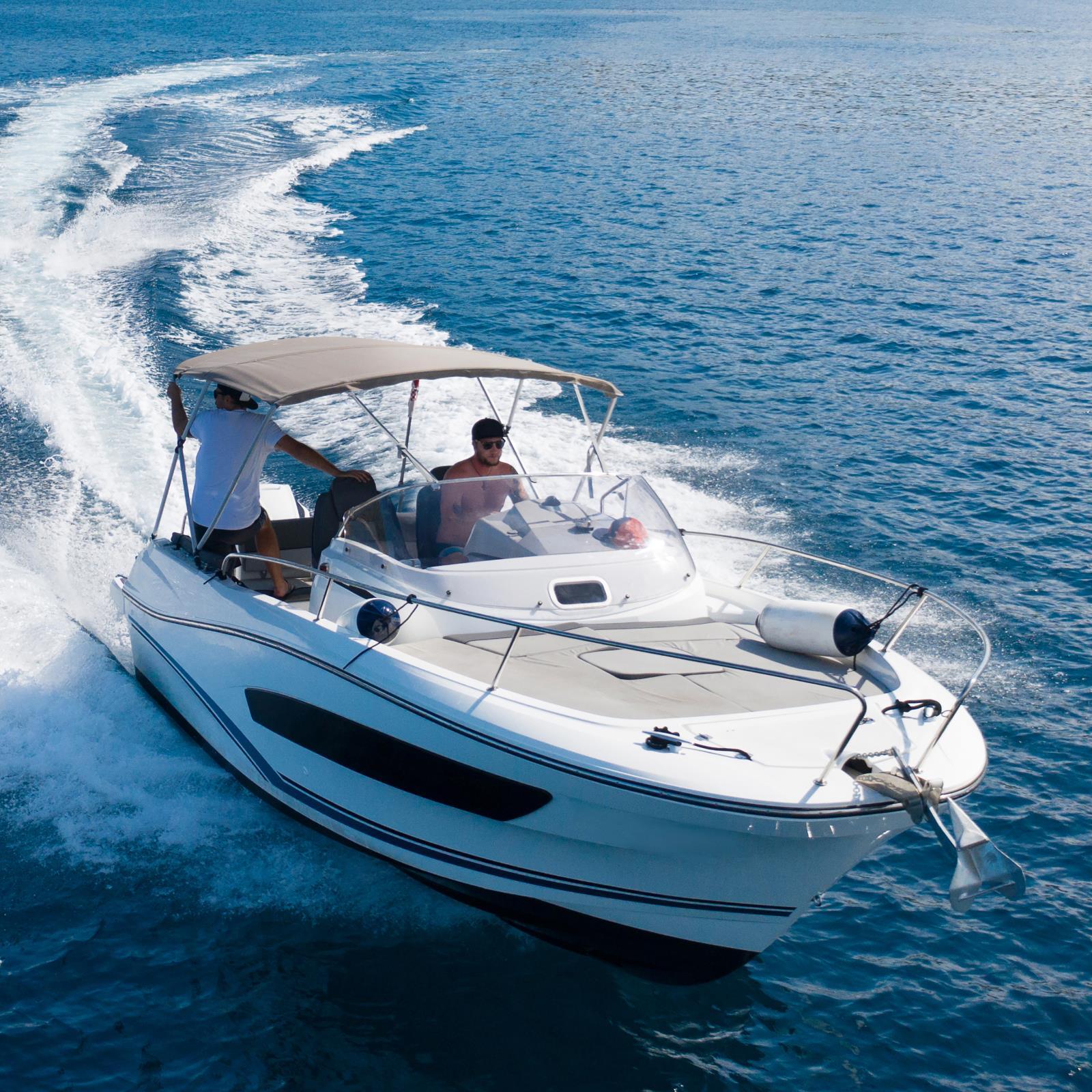 Wake Boat and Trim Tab Control